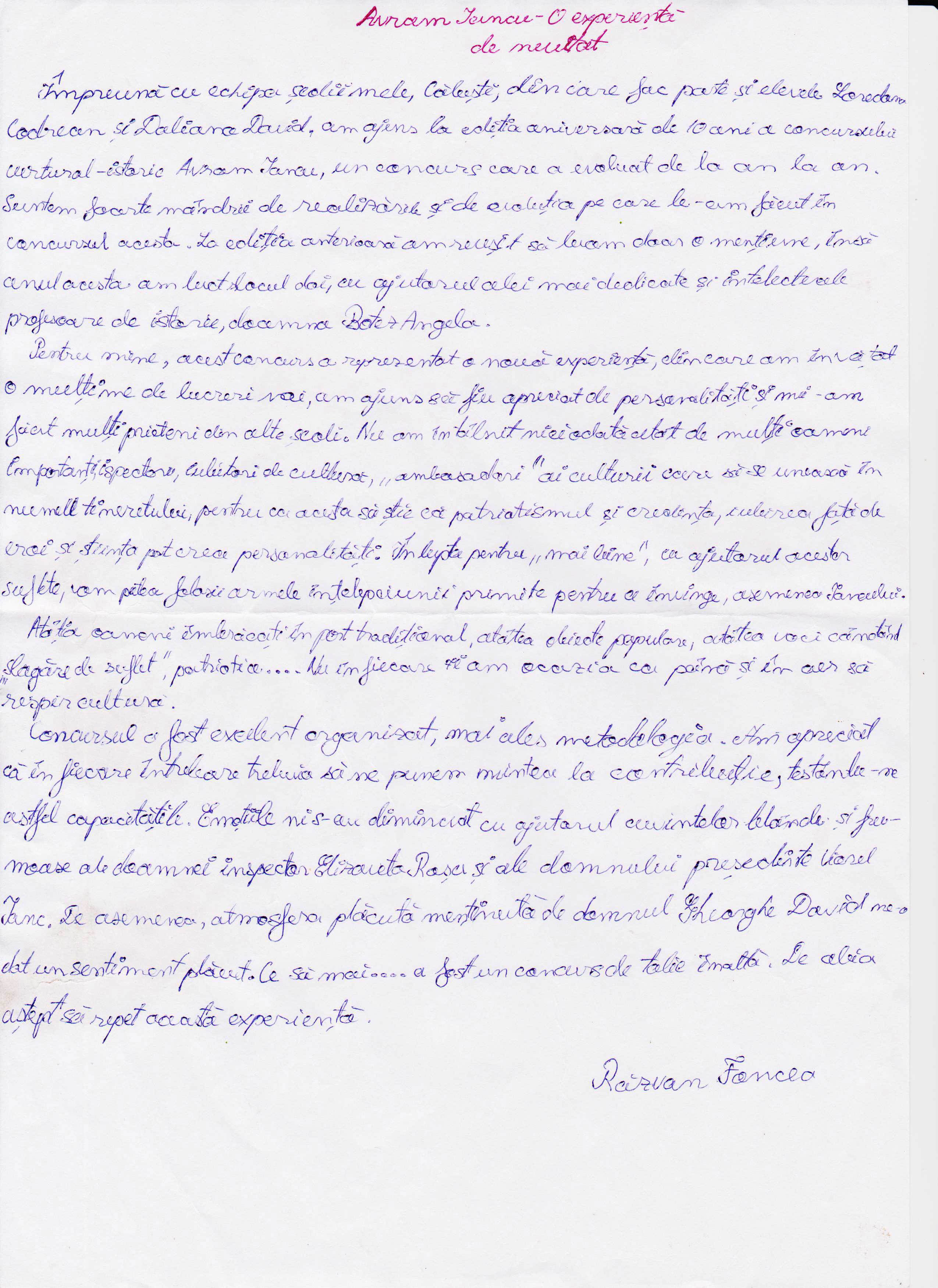 Articol Avram Iancu